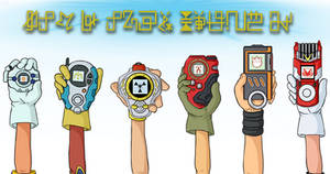 Hold Your Digivice High by demonoflight