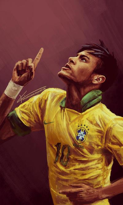 Neymar Jr. by apfelgriebs