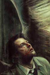 Castiel - Everything beautiful bleeds