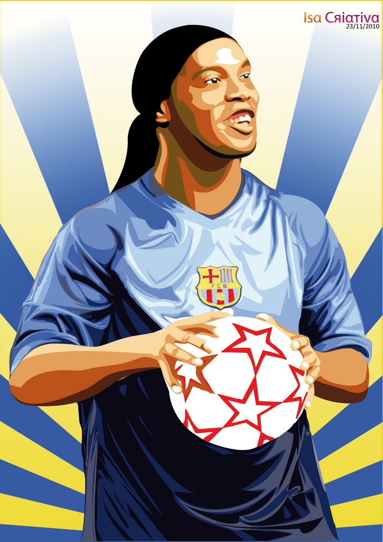 Ronaldinho Gaucho By Isacriativa On Deviantart