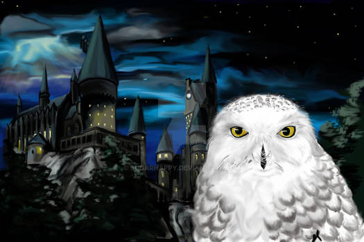 Hedwig With Background