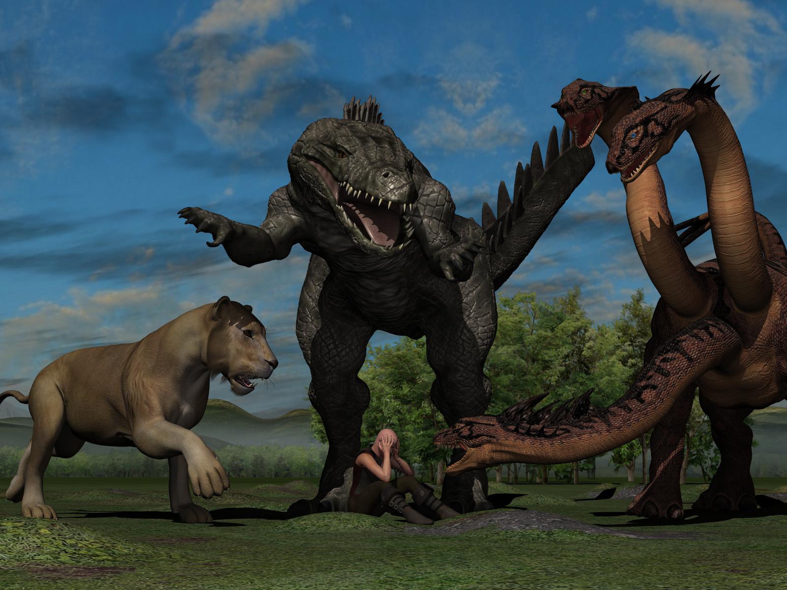 Your Choice Odd Predators by PWRof3D
