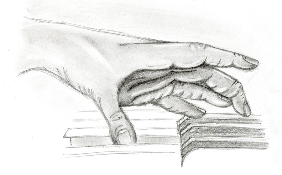 Hand playing piano by themusicsmyth on DeviantArt