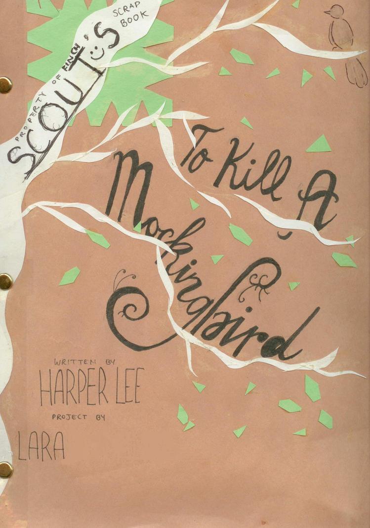 Kill mockingbird scrapbook ideas - To kill a mockingbird scrapbook project by imagine0139