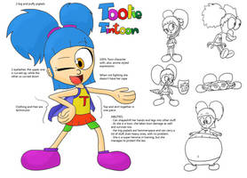New OC: Toolie Tintoon by JuacoProductionsArts