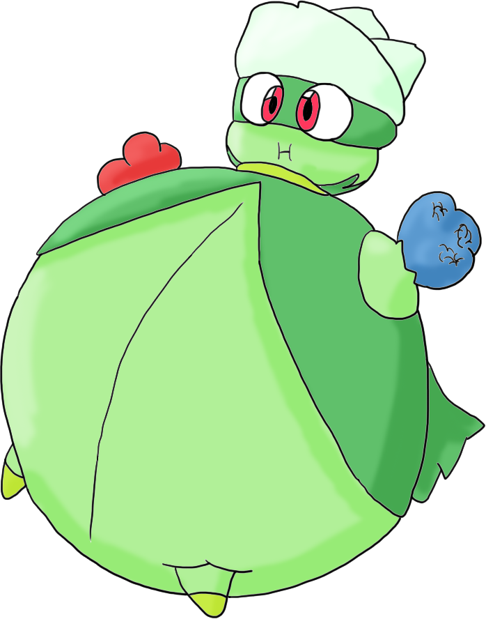 Inflated Gardevoir Roserade inflated by