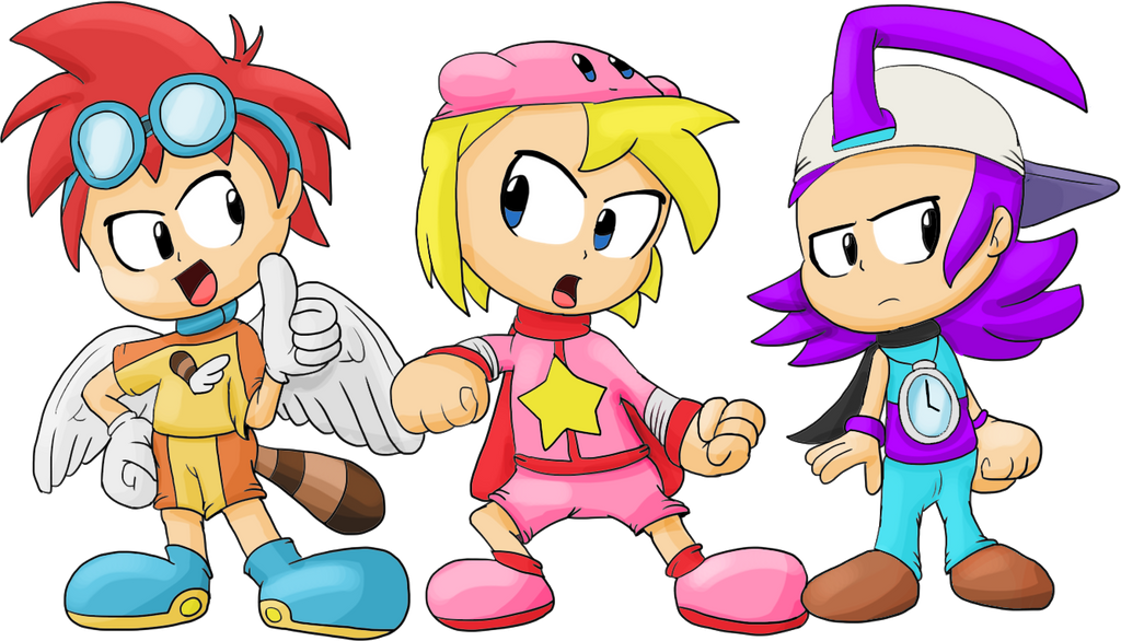 Anime Characters Kirby Wiki : Saito kirby and aege as humans by juacoproductionsarts on