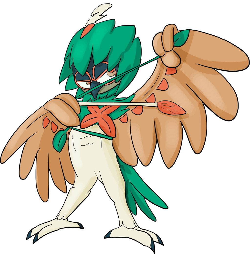 decidueye and chestnaught trying - photo #49