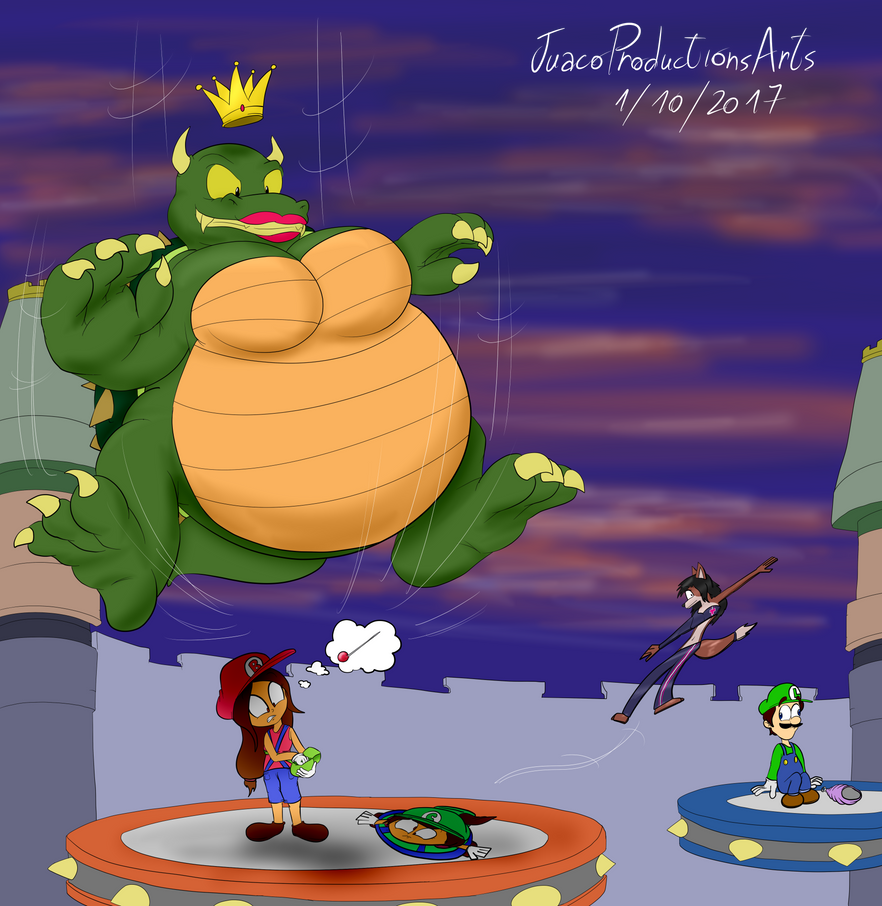Queen Koopa's High Dive By JuacoProductionsArts On DeviantArt