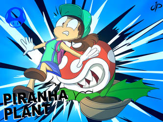 Piranha Plant wins! by JuacoProductionsArts