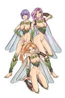 Fairies Comission for QuantumKonar - NSFW Version by ILUSDN