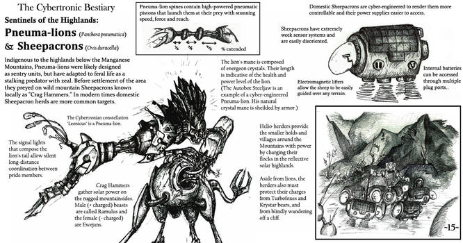 The Cybertronic Bestiary Page 15