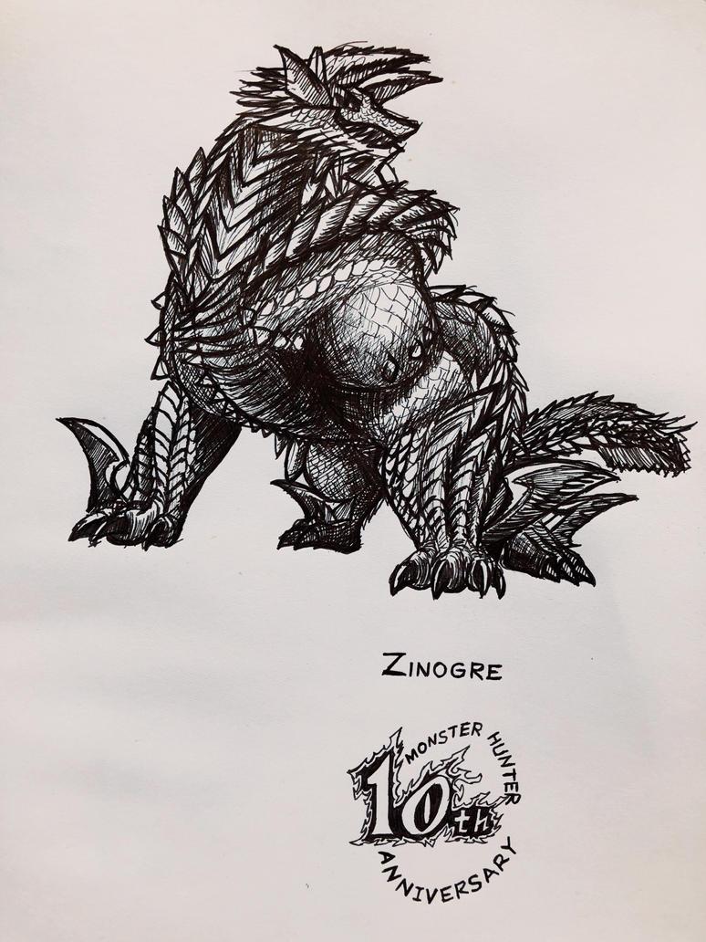 Monster hunter Zinogre by gm1121485