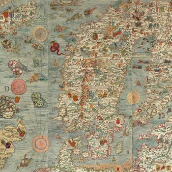 Vintage Map of Europe (13)