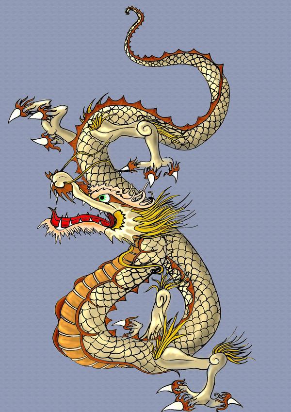 Japanese Dragon: Japanese Dragon By Chyga On DeviantArt