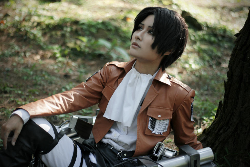 [Shingeki no Kyojin - Levi] All Alone by Seiran-Kisaragi