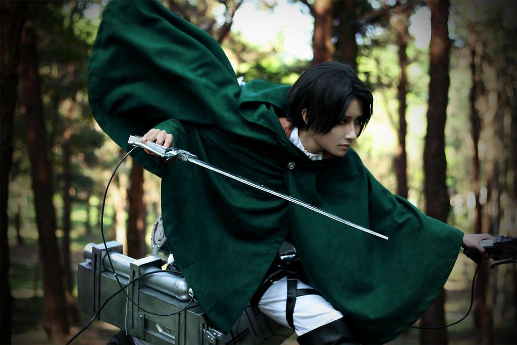 [Shingeki no Kyojin - Levi] Never Give Up by Seiran-Kisaragi