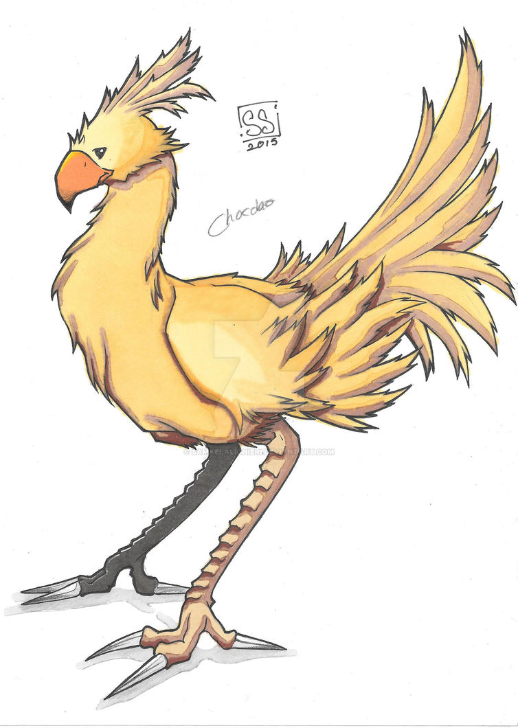 Chocobo by SamaelAlighieri