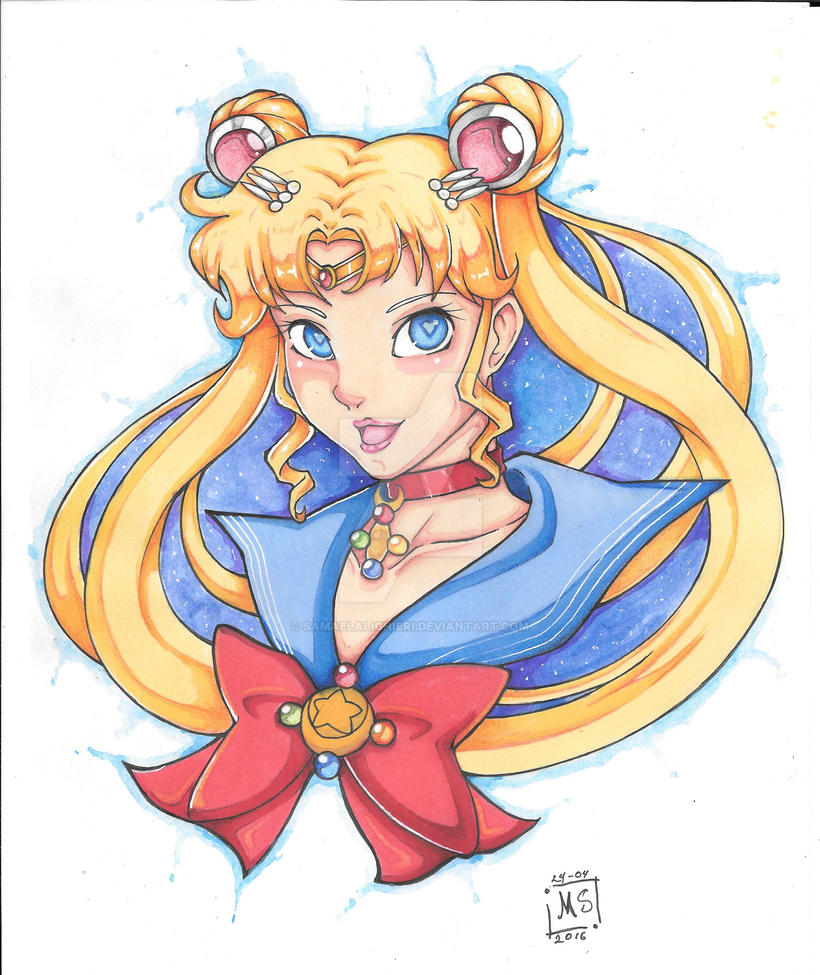 Sailor Moon by SamaelAlighieri