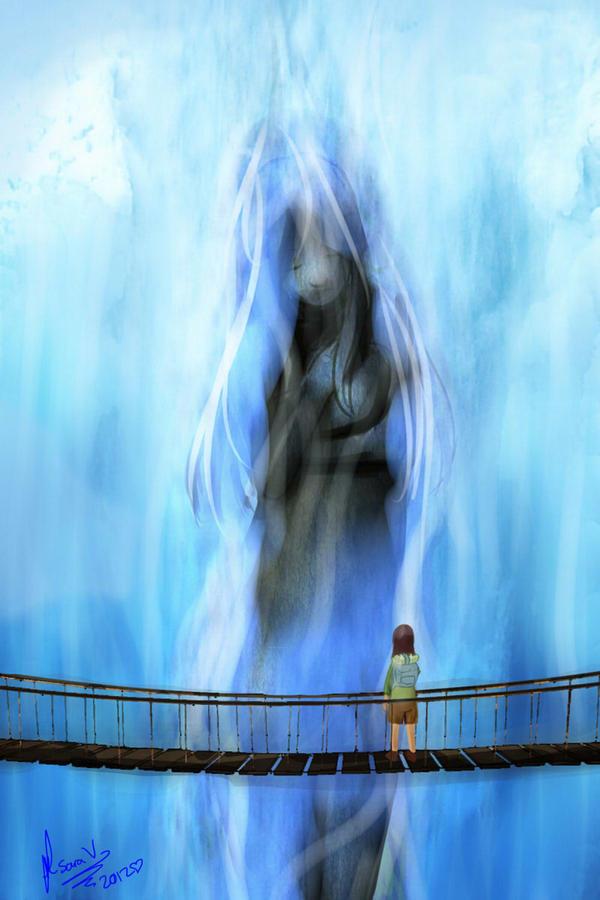 Waterfall by SaraV-Art