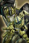 Master Chief and Optimus Prime