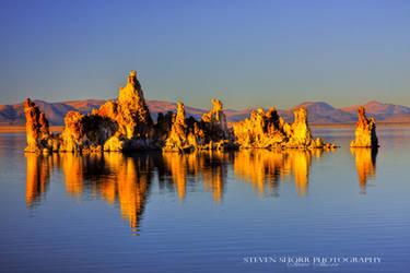 Sunset at Mono Lake by Mac-Wiz
