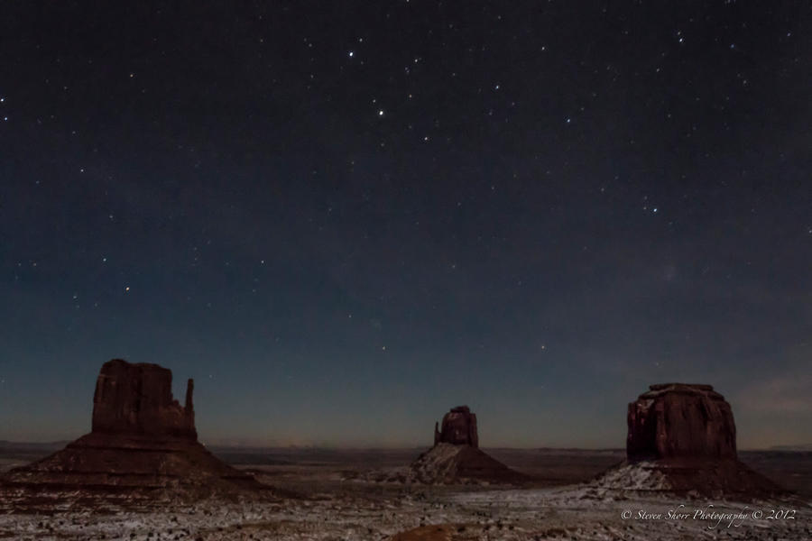 Night Skies In Monument Valley By Mac Wiz On DeviantArt