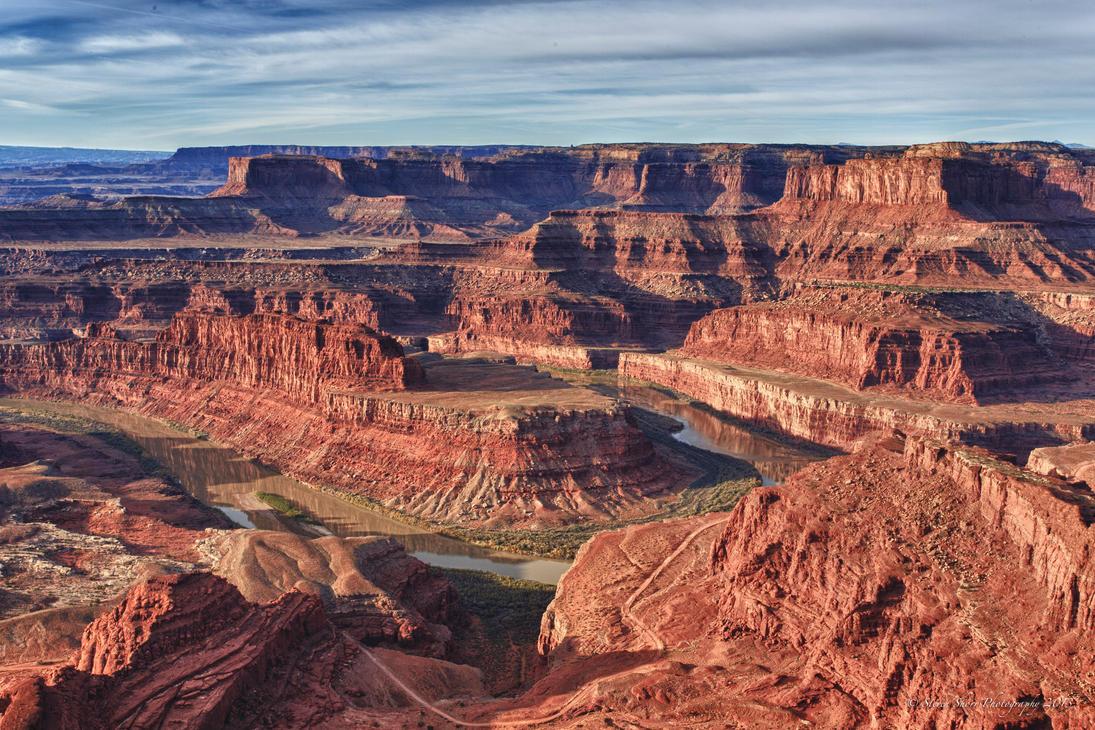 The Colorado River in Canyonlands by Mac-Wiz