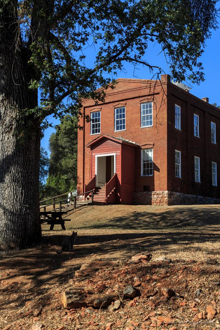 Columbia Schoolhouse by Mac-Wiz