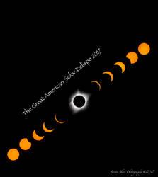 The Great American Solar Eclispe by Mac-Wiz
