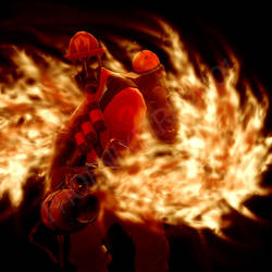 Team Fortress 2: Pyro FLAMES