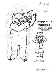 LoL: Tibbers plays the Viola