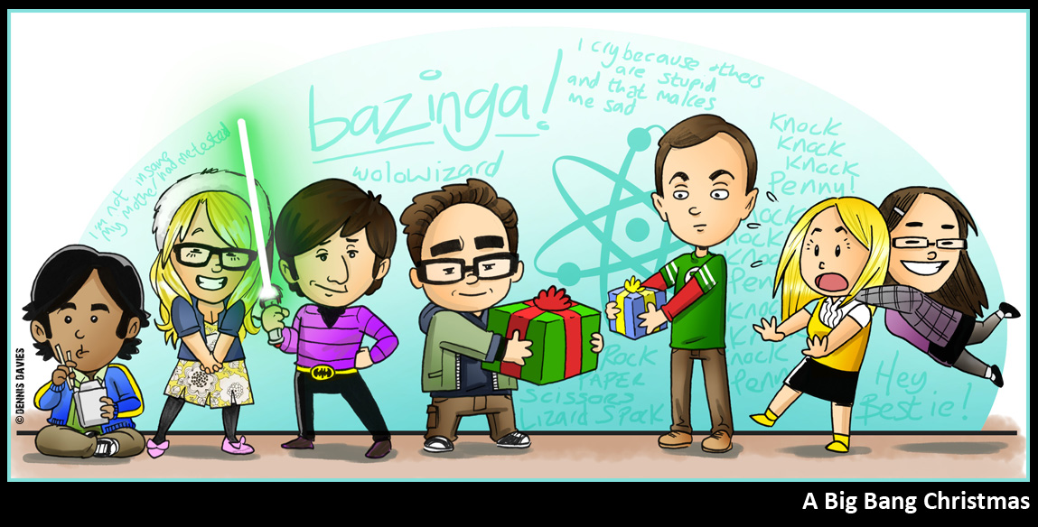A Big Bang Christmas by CitizenWolfie