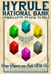 Hyrule Bank Poster