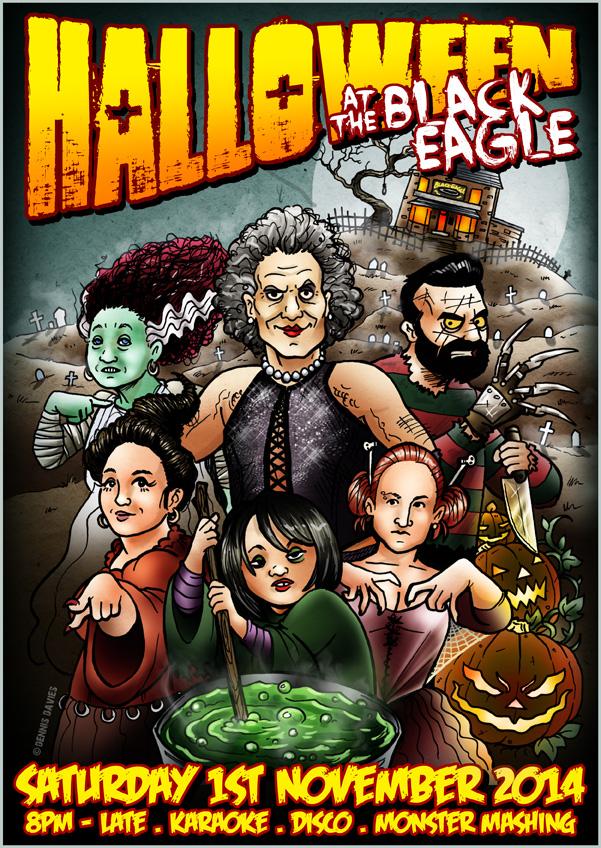 Black Eagle Halloween 2014 by CitizenWolfie