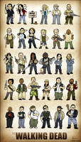 The Walking Dead Squishies