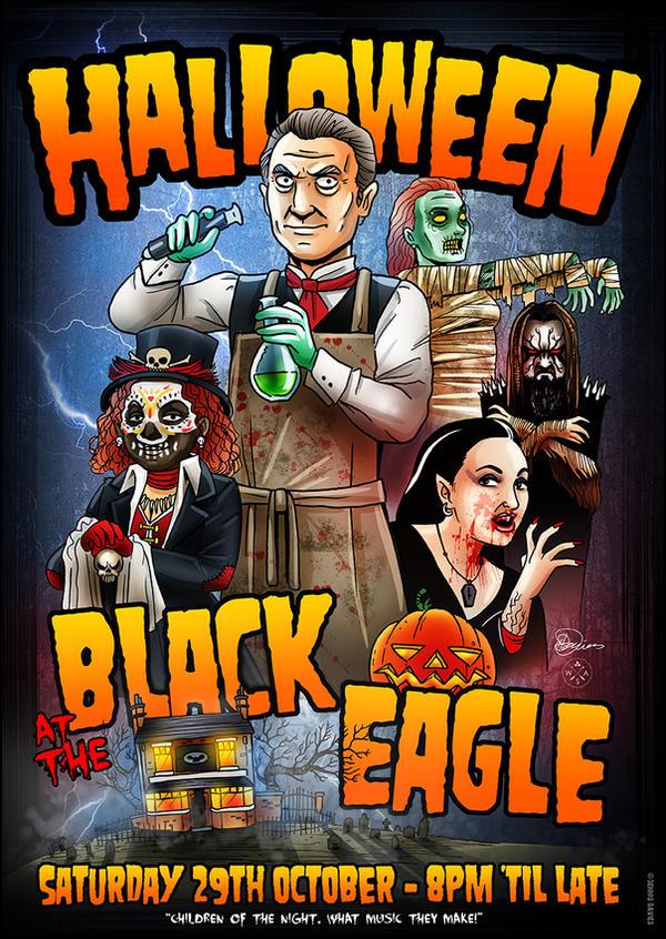 Black Eagle Halloween 2016 by CitizenWolfie