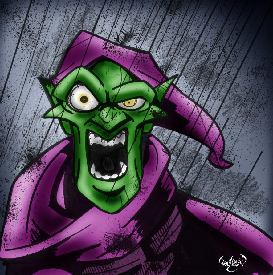 The Green Goblin by CitizenWolfie