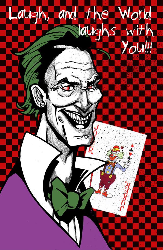 The Joker by CitizenWolfie