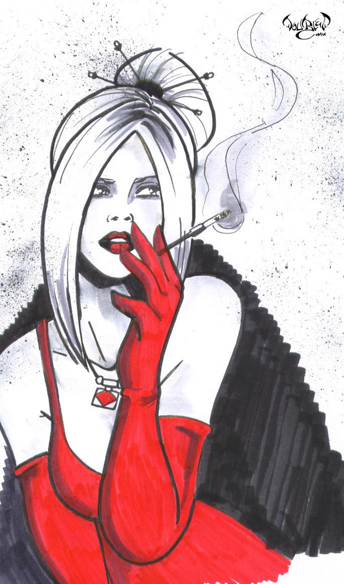 Scarlett by CitizenWolfie