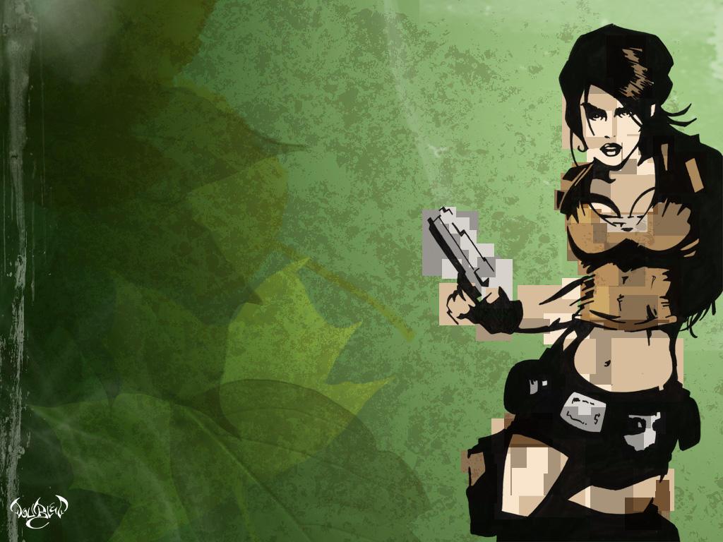 Lara Croft by CitizenWolfie