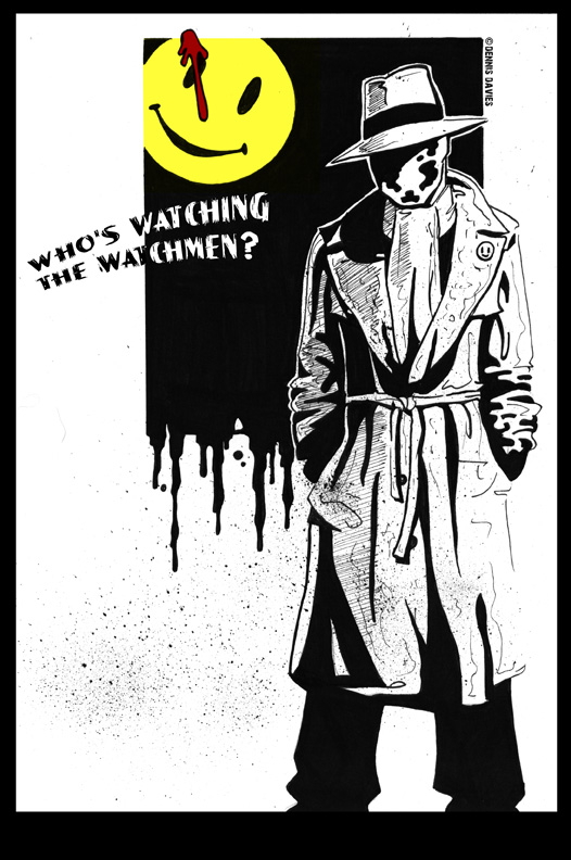 Rorschach by CitizenWolfie