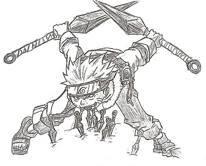 Naruto fan-art by italovieira