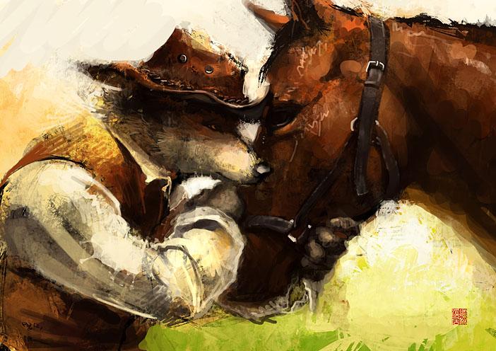 best pal by racoonwolf