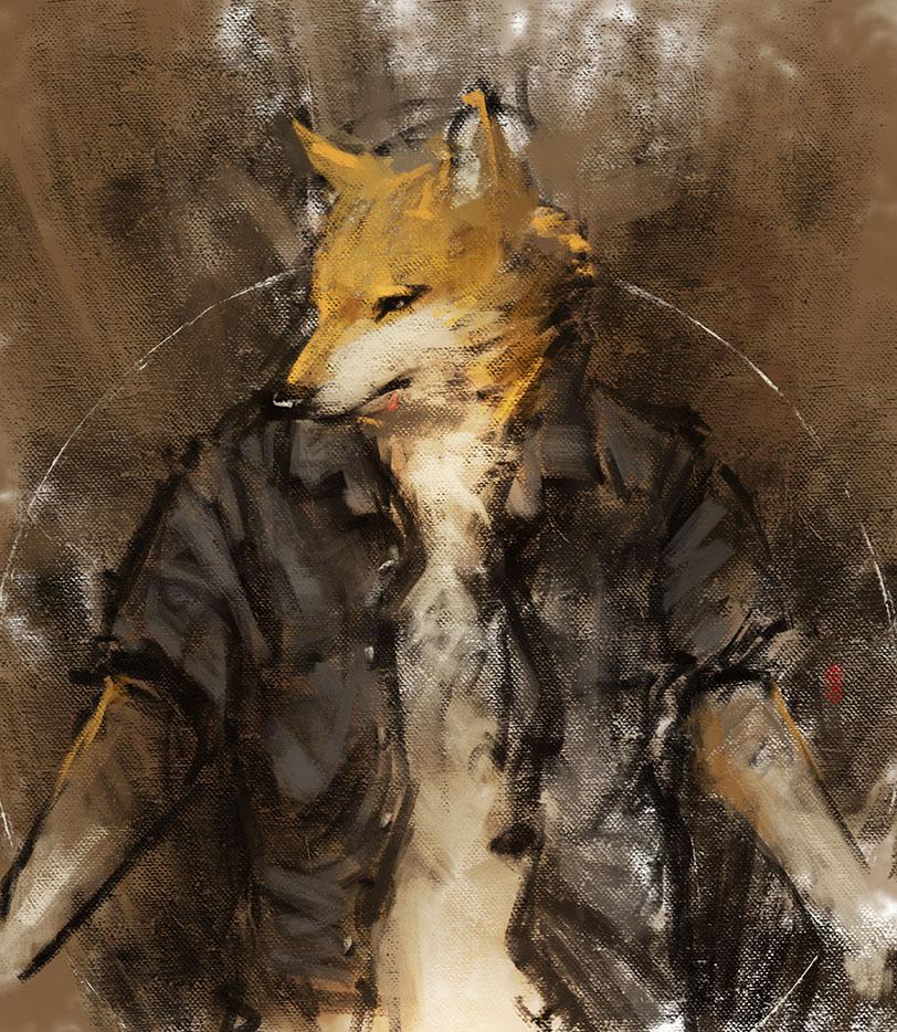 Djwolf by racoonwolf