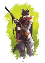 young guard by racoonwolf