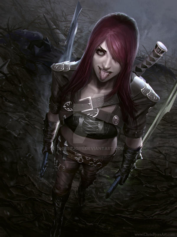 League of Legends s3 Katarina by ChrisBjors