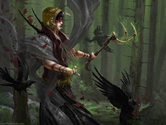 Woods Witch by ChrisBjors
