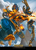 SMITE: Rama Gold by ChrisBjors