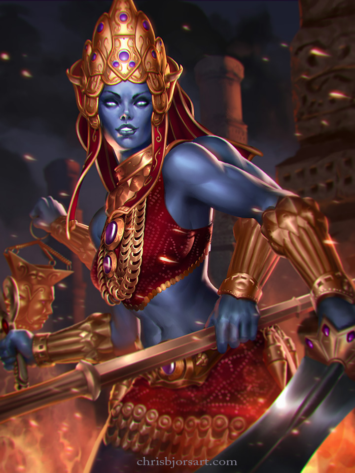 SMITE: Kali Tier 2 by ChrisBjors